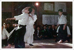 Morihei Ueshiba sensei,